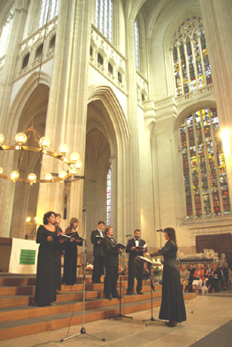 Concert Harmonia à Nantes, Cathédrale Saint Pierre et Saint Paul, photo : Michel